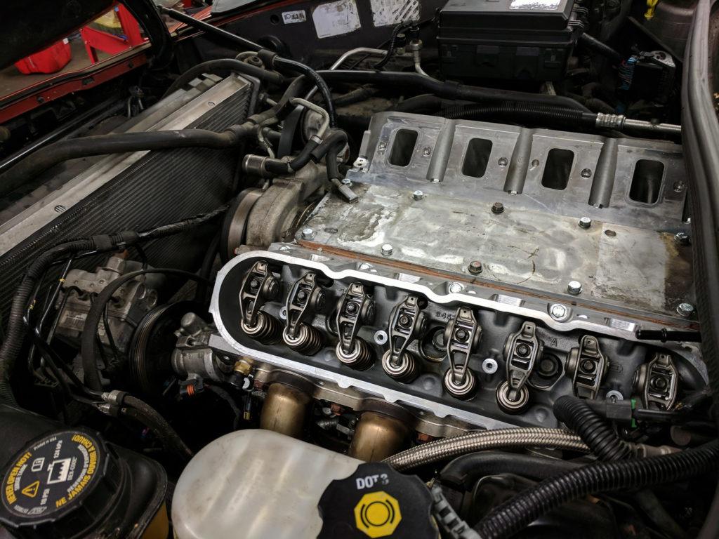 Überarbeiteter Zylinderkopf Corvette LS 7