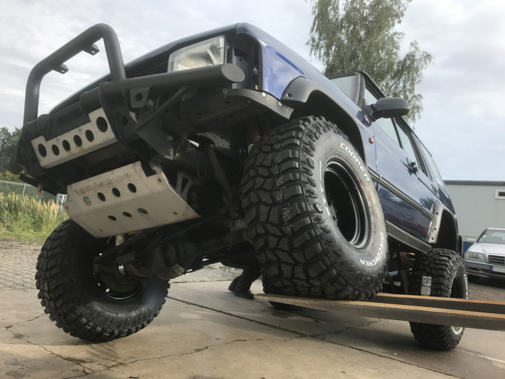 Verschränkung Land Rover Discovery